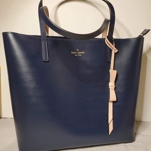 Kate Spade Lawton Way Navy Purse